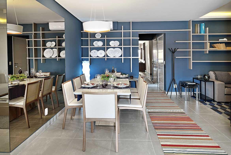 Sala com Living Ampliado